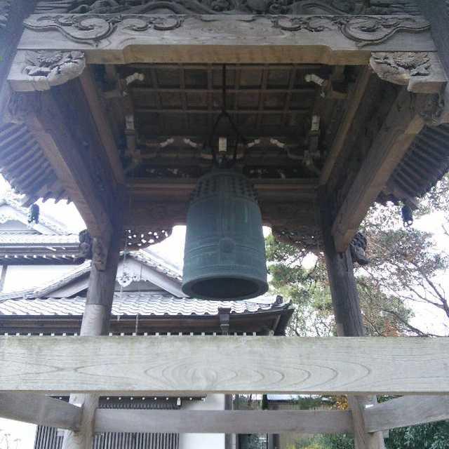 等覺寺の銅鐘