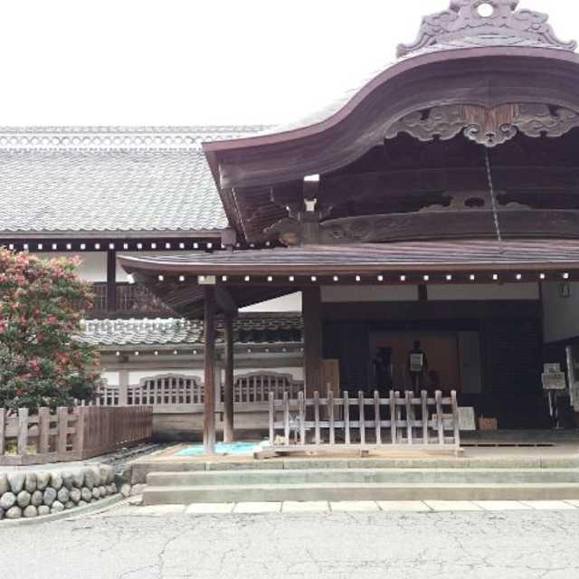 川越本丸御殿の広間