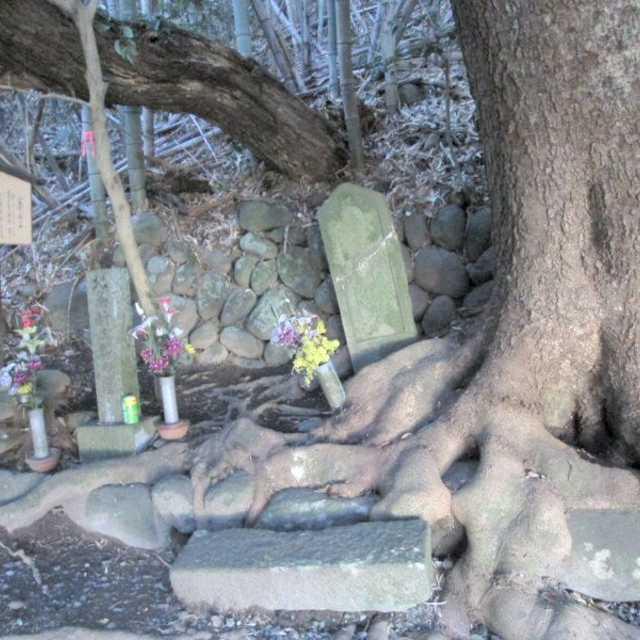 北条新三郎の墓
