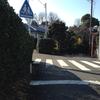 旧東海道は直進です