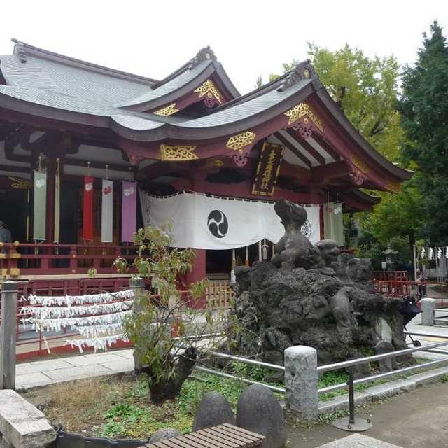 素盞雄神社の富士山