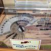津山扇形機関車庫の模型