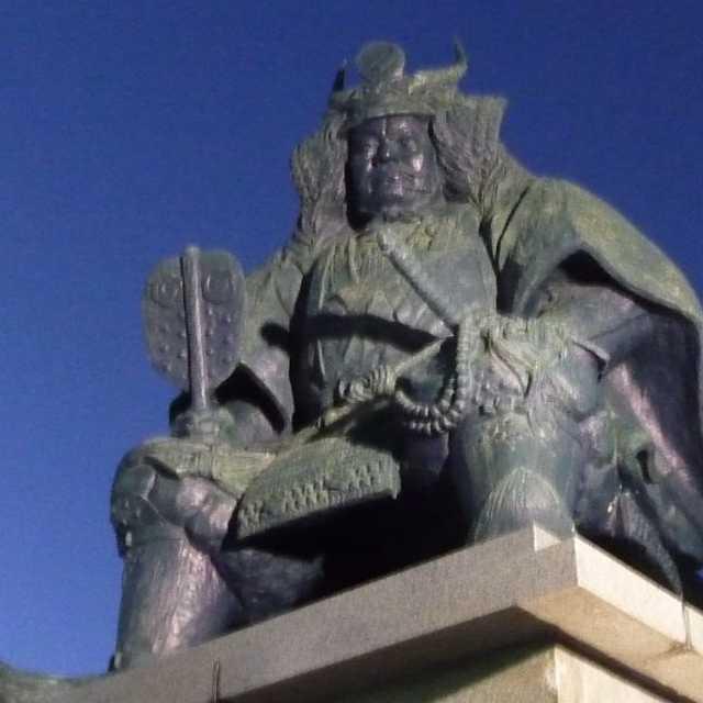 武田信玄公之像