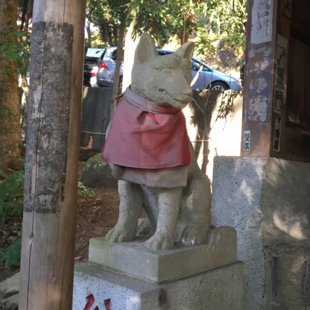 三峯神社は狼さん