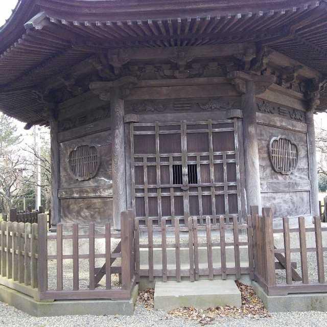 弘道館鹿島神社の八掛堂