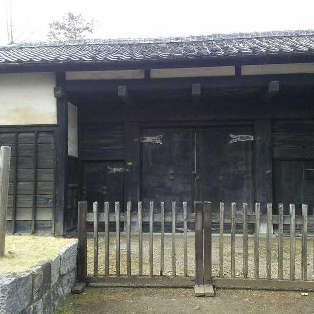 岩槻城城門 「黒門」