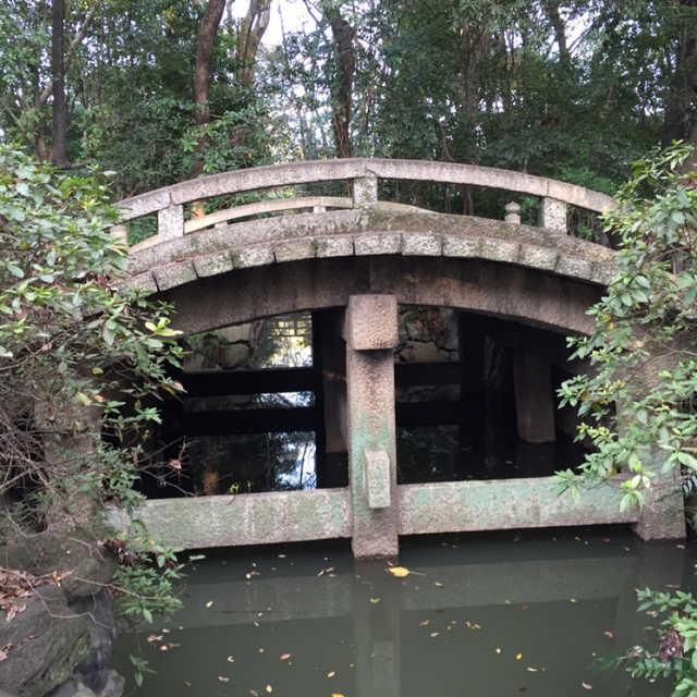 名古屋で一番古い石橋