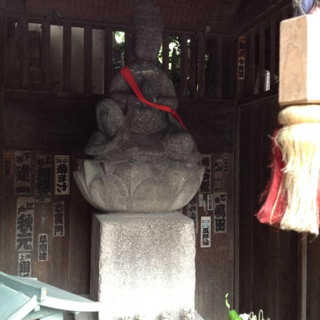目黒の行人坂にある菩薩像の高さ?