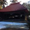 諏訪神社の歌舞伎舞台
