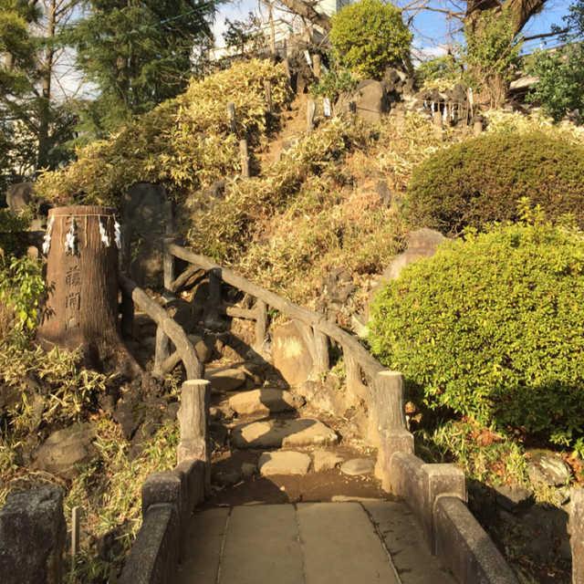 都内最古の富士塚