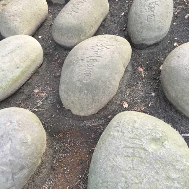 井草八幡宮の力石