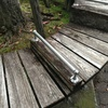 伝馬町公園のベンチ