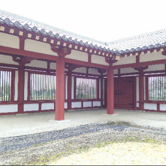 下野薬師寺廻廊の復元