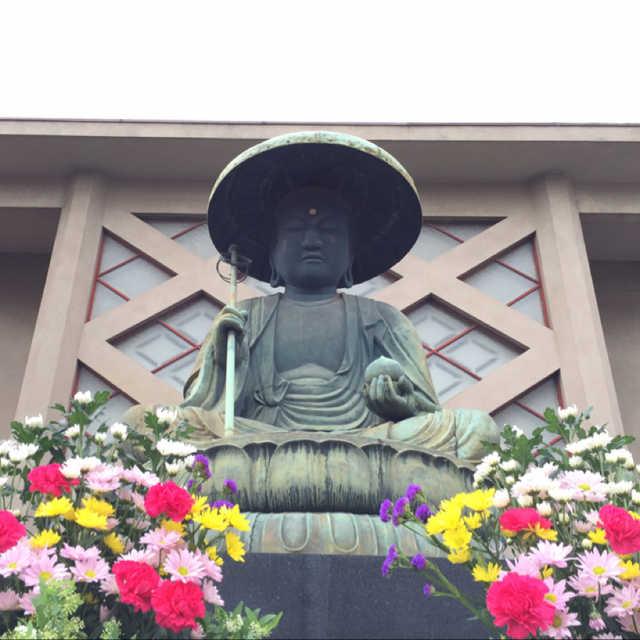 東禅寺 銅製地蔵菩薩坐像
