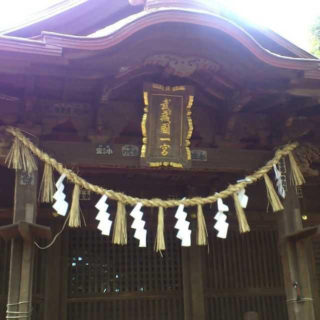見沼代用水: 氷川女体神社