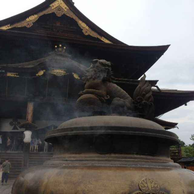 善光寺の香炉