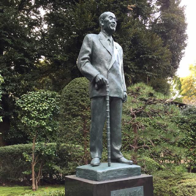 大谷米太郎氏銅像