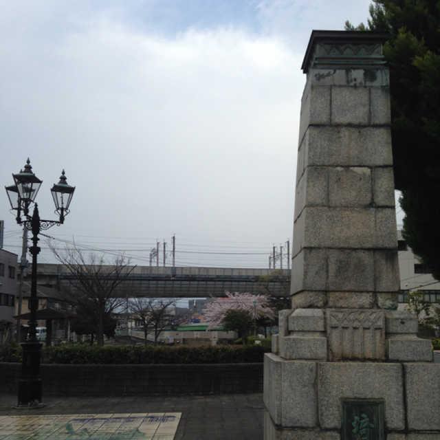 戸田橋の親柱