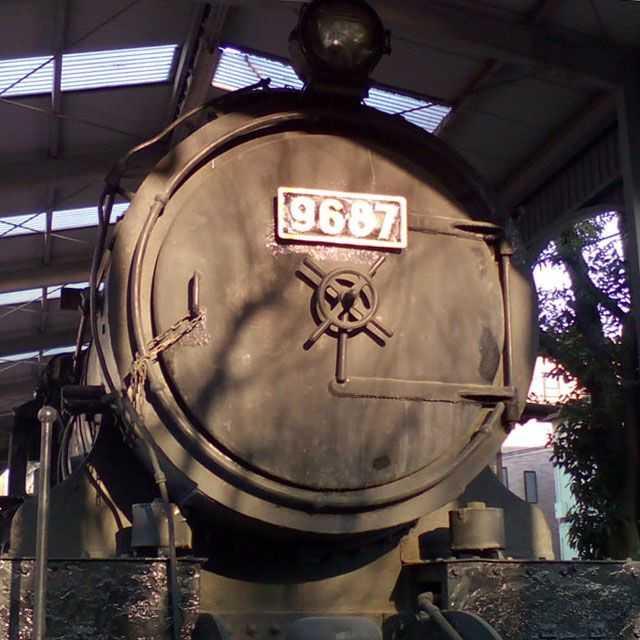 9687蒸気機関車
