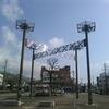 桐生駅前モニュメント