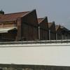 レンガのノコギリ屋根