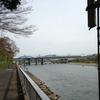 東急線の鉄橋が見える