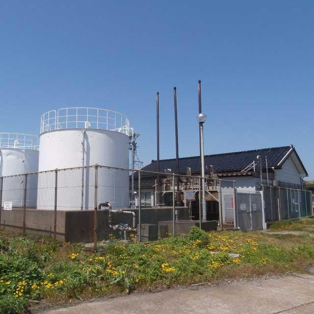 島の発電所