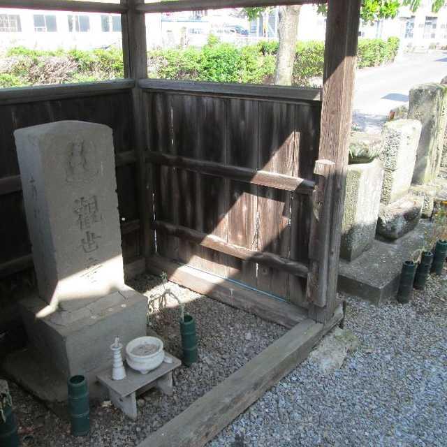 新田宿北口の石仏群