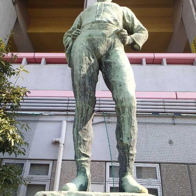 日比野寛先生像