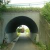 交差点下のトンネル