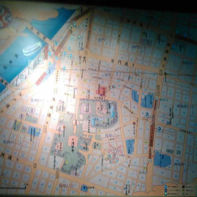 浅草周辺地図