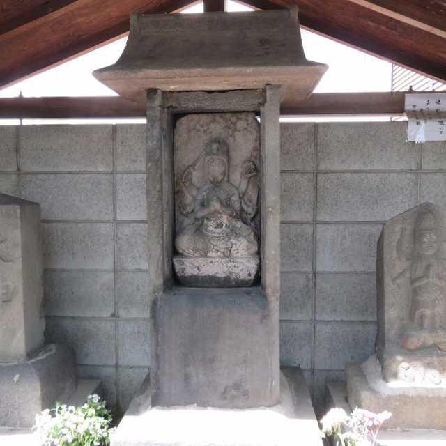 旭町茶屋通りの石造物