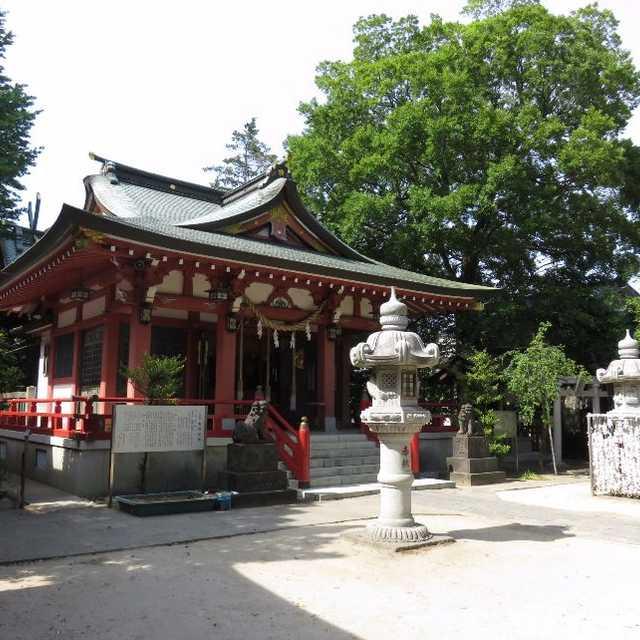 大沢総鎮守・香取神社