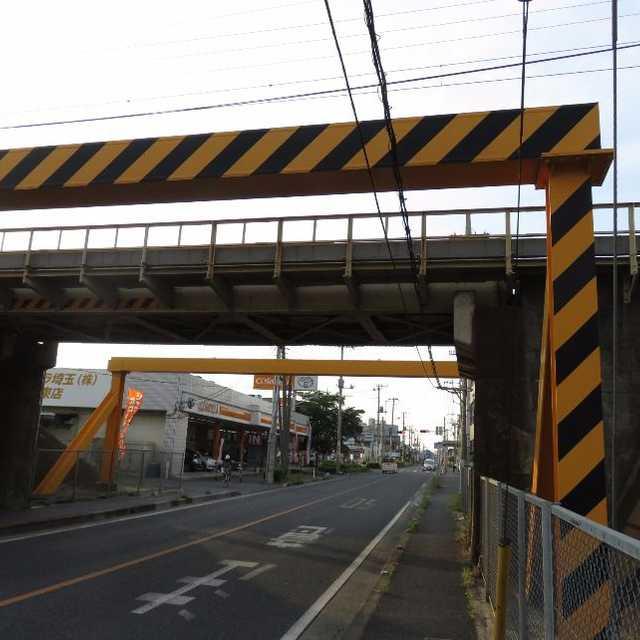 東武野田線のガード