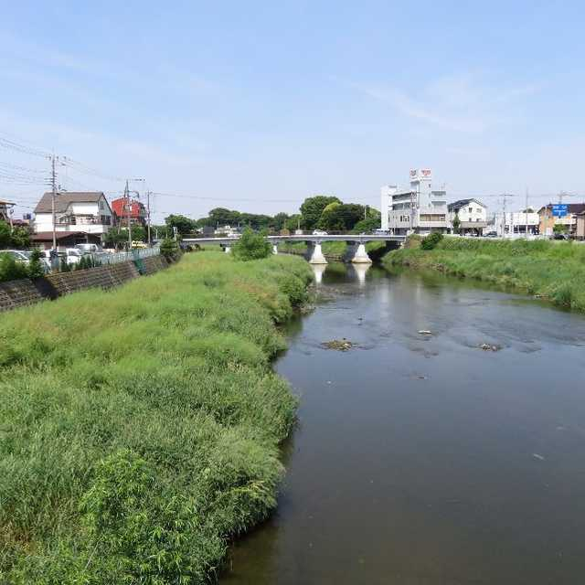 日光街道・元荒川の大沢橋