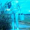 無名の銅像
