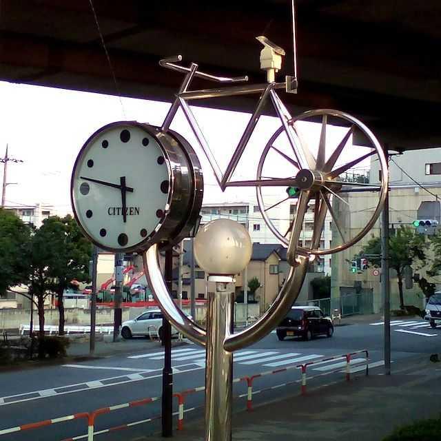 芝川CR: 自転車時計