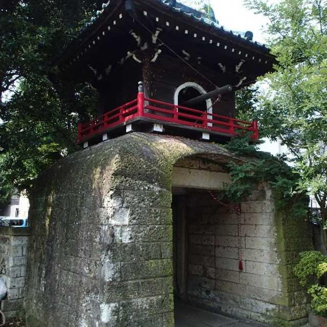 純中国風鐘楼門
