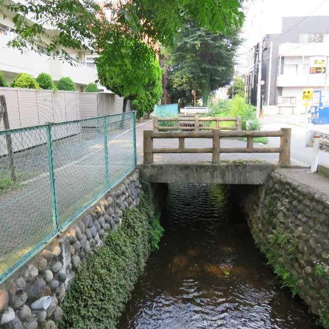 野火止用水の橋