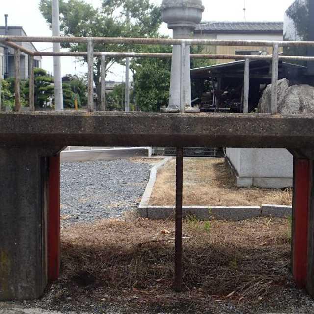 水量調整の三叉水門