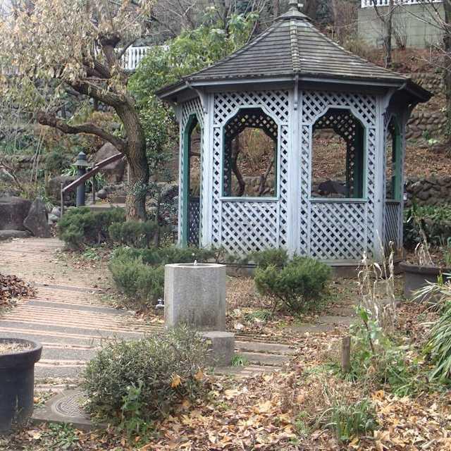 庭園をイメージした公園