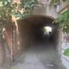 赤煉瓦のトンネル