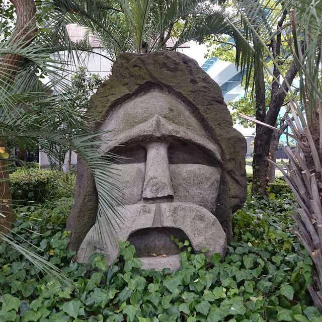 竹芝のモヤイ像 (2)