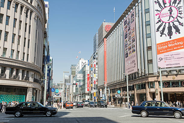 Ginza department stores