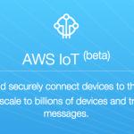 AWS IoTがリリースされました(Yúnを繋ぎました)