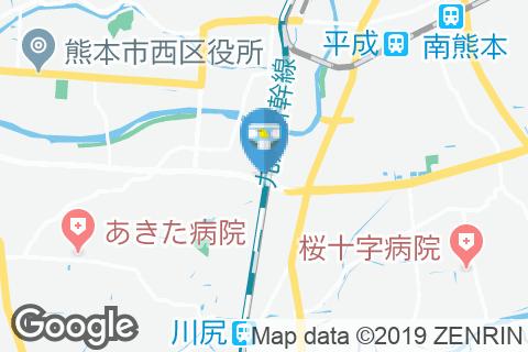 イオンタウン西熊本(1F)のオムツ替え台情報