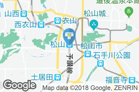 松山駅(改札外)のオムツ替え台情報