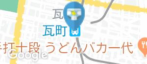 瓦町駅(改札内)(多目的トイレ)のオムツ替え台情報