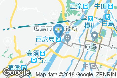 西広島駅(改札外)のオムツ替え台情報
