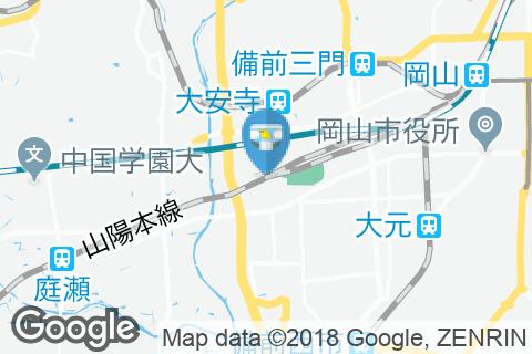 北長瀬駅(改札外)のオムツ替え台情報